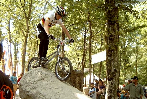 2004 » August - Bike Trial WM in Besancon / Frankreich